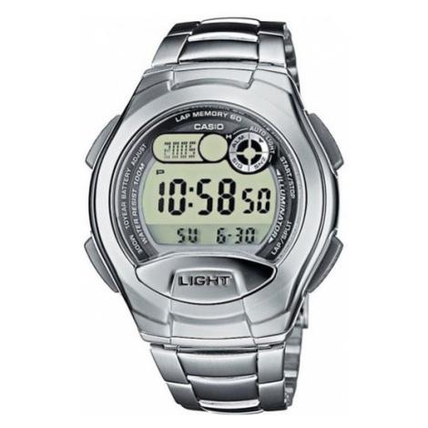 Casio Zegarek W-752D -1AVES Srebrny