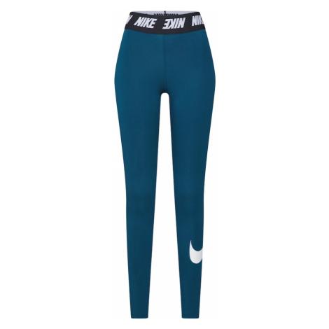 Nike Sportswear Legginsy niebieski / zielony