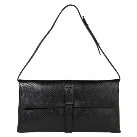 Calvin Klein Torba na ramię 'WINGED SHOULDER BAG' czarny