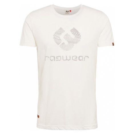 Ragwear Koszulka 'CHARLES' czarny / biały