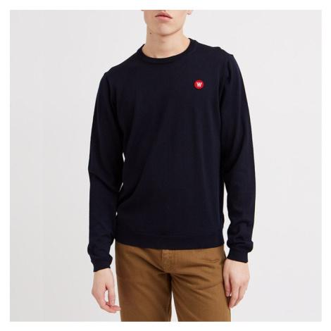 Sweter męski Wood Wood Kip 10005507-4142 NAVY
