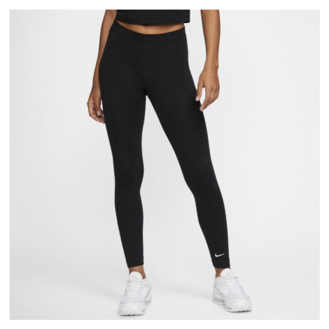Legginsy damskie Nike Sportswear Club - Czerń