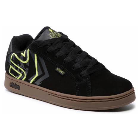 Sneakersy ETNIES - Metal Mulisha Fader Black/Green/Gum