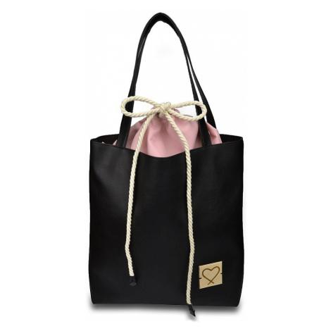 torba Xiss Vol. Black - Black/Pink
