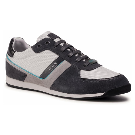 Sneakersy BOSS - Glaze 50407903 10214592 01 Open White 123 Hugo Boss