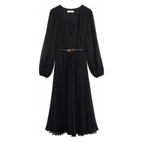 MANGO Sukienka 'Nash' czarny