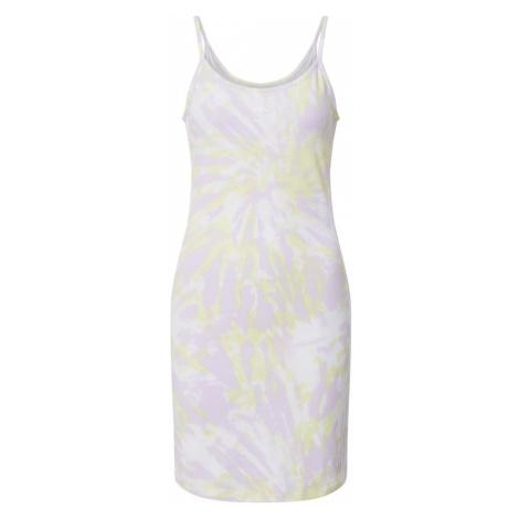 ADIDAS ORIGINALS Sukienka offwhite / pastelowy fiolet / pastelowo-żółty