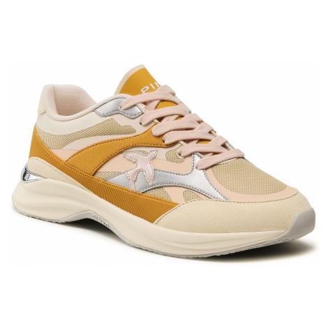 Sneakersy PINKO - Ligchtech Sneaker PE 21 BLKS 1H20V3 Y73U Off Whie LK7