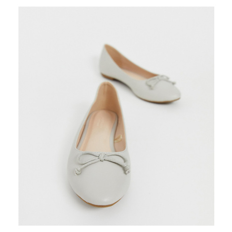 Truffle Collection Wide Fit Easy Ballet Flats