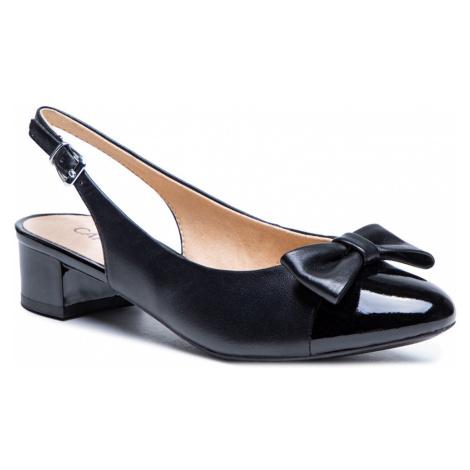Sandały CAPRICE - 9-29501-26 Black Nappa 026