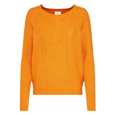 VILA Sweter jasnopomarańczowy