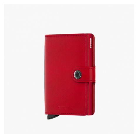Portfel Secrid Miniwallet Original M-Red-Red