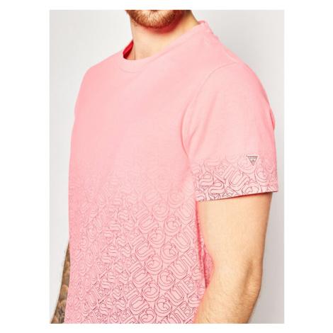 Guess T-Shirt 1000 Tee M0GI57 K8HM0 Różowy Regular Fit