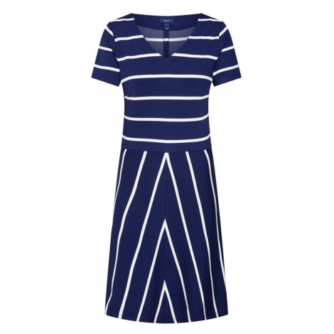 GANT Sukienka ciemny niebieski / biały