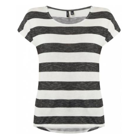 Bluzka ze wzorem w blokowe pasy model 'Wide Stripe' Vero Moda