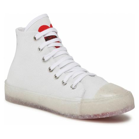 Sneakersy LOVE MOSCHINO - JA15353G0CJJ0100 Bianco