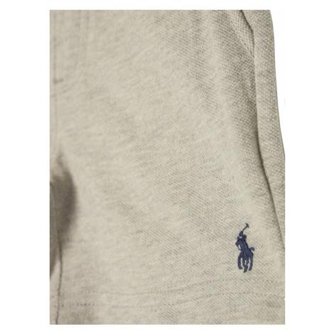 Polo Ralph Lauren Szorty materiałowe Summer 323803599001 Szary Regular Fit