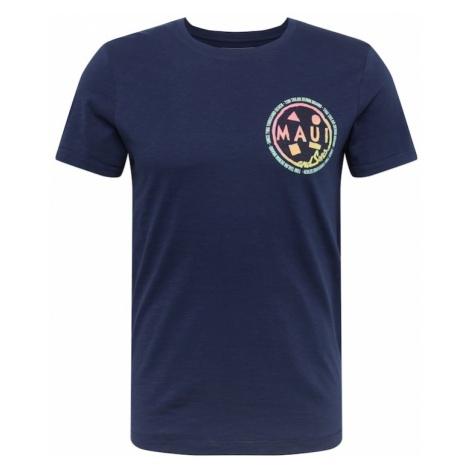 TOM TAILOR DENIM Koszulka ciemny niebieski / mieszane kolory
