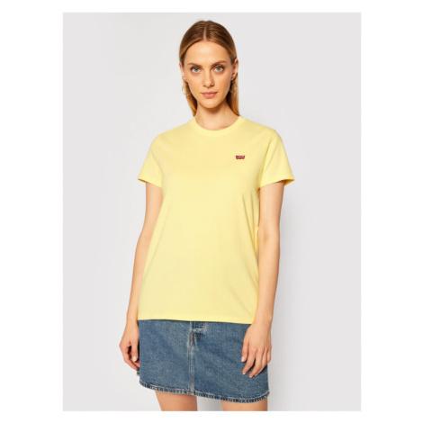 Levi's® T-Shirt Perfect Tee 39185-0103 Żółty Regular Fit Levi´s