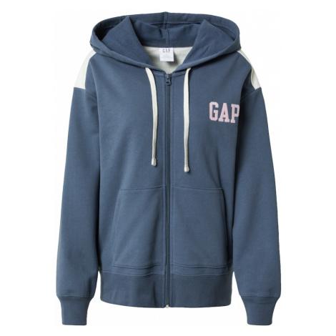 GAP Bluza rozpinana jasnoniebieski / biały