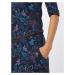 Ragwear Sukienka 'TANYA FLOWERS' czarny