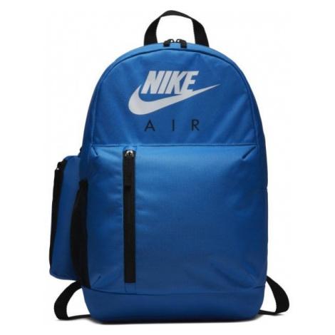 Nike KIDS ELEMENTAL GRAPHIC BACKPACK niebieski  - Plecak dziecięcy