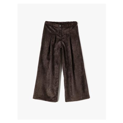 Koton Brown Girls' Pants