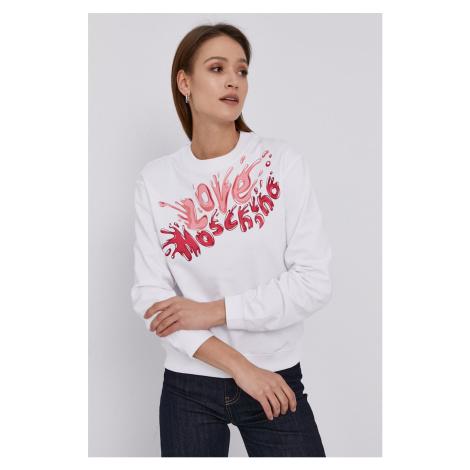 Love Moschino - Bluzka bawełniana