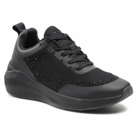 Sneakersy TAMARIS - 1-23730-26 Black Uni 007