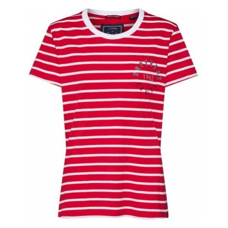 Superdry Koszulka 'Payton Graphic' czerwony