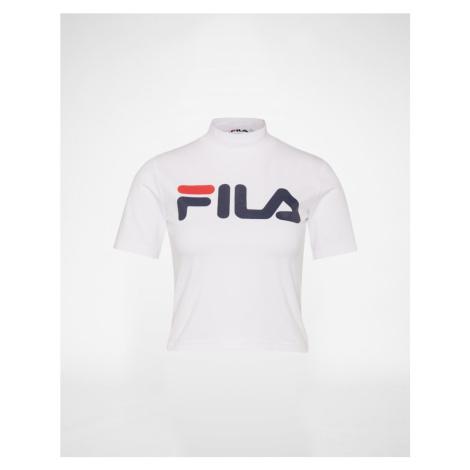 FILA Koszulka biały / czerwony / czarny