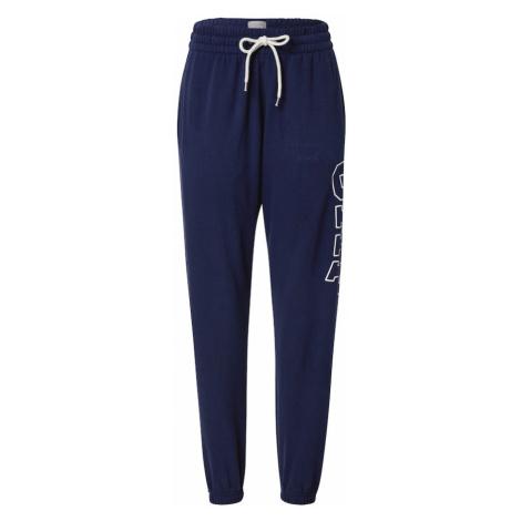 GAP Spodnie niebieski / biały
