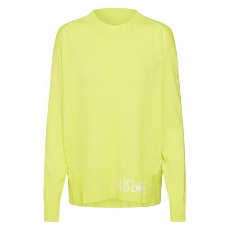 LIEBLINGSSTÜCK Sweter 'SoleaL' żółty