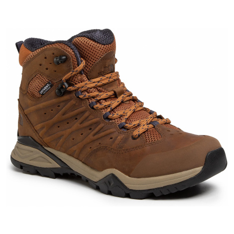 Trekkingi THE NORTH FACE - Hedgehog Hike II Mid Wp NF0A4PF5H07 Timber Tan/India Ink