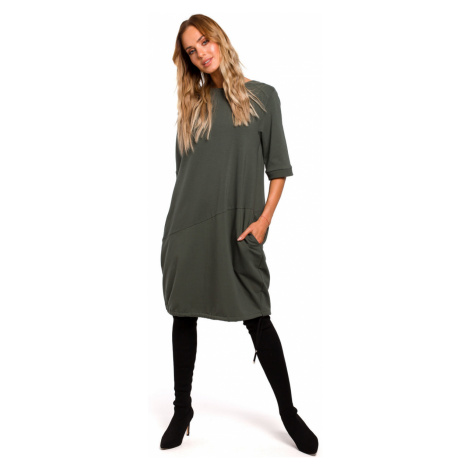 Made Of Emotion Woman's Dress M451 Military