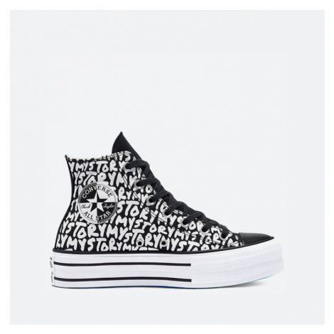 Buty damskie sneakersy Converse Chuck Taylor All Star Double Stack Lift Hi  'My Story' 570321C