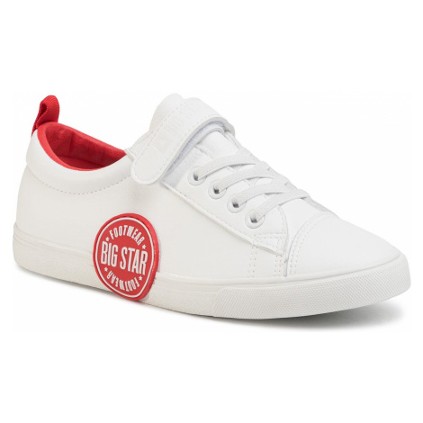 Sneakersy BIG STAR - FF274478 White/Red