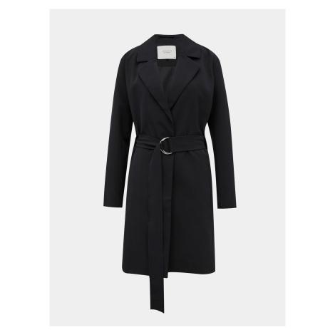 Czarny, lekki płaszcz Jacqueline de Yong Nella