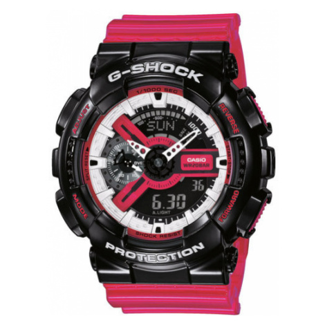 G-Shock Zegarek GA-110RB-1AER Różowy Casio