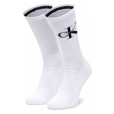 Calvin Klein Jeans Skarpety Wysokie Męskie 100001816 Biały