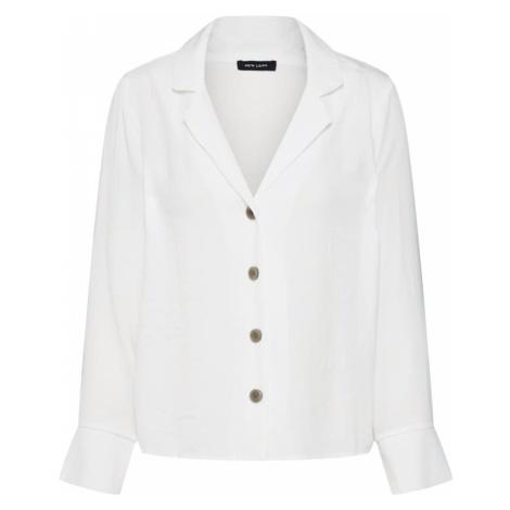 NEW LOOK Bluzka '27.04 WW PEGGY SHIRT' biały