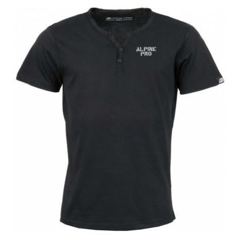 ALPINE PRO DARNELL 2 czarny S - Koszulka męska