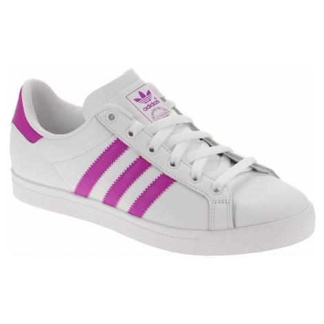 buty adidas Originals Coast Star - White/Vivid Pink/White