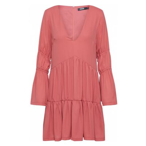 Missguided Sukienka różowy / czerwony