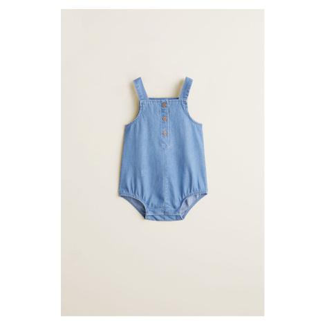 Mango Kids - Body niemowlęce Rita 62-80 cm