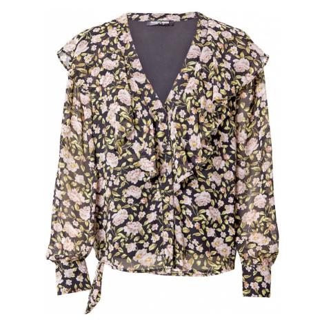 Fashion Union Bluzka różowy pudrowy / szary / biały