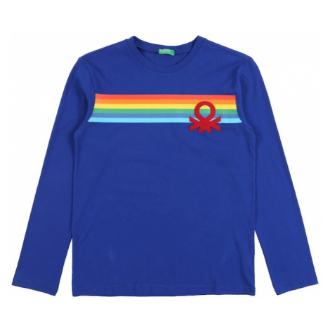 UNITED COLORS OF BENETTON Koszulka 'T-SHIRT L/S' niebieski