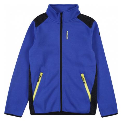ICEPEAK Sportowa bluza rozpinana 'TORIN' czarny / granatowy