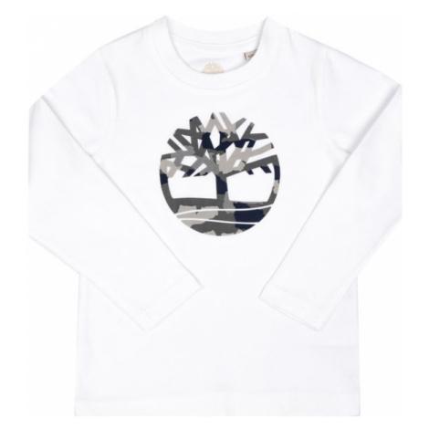 Timberland T-Shirt T25Q21 M Biały Regular Fit