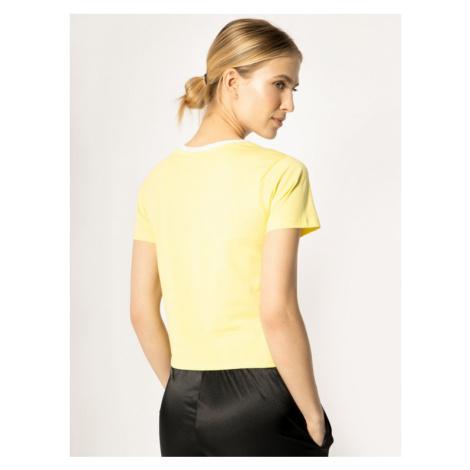 Fila T-Shirt Salome 687614 Żółty Regular Fit
